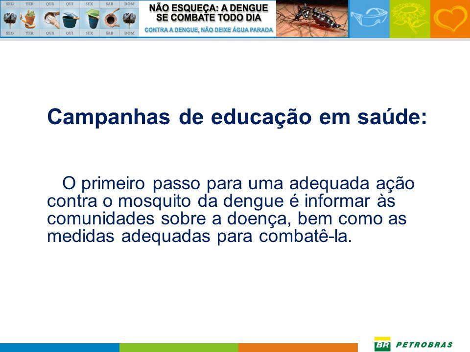 Campanhas de educação em saúde: