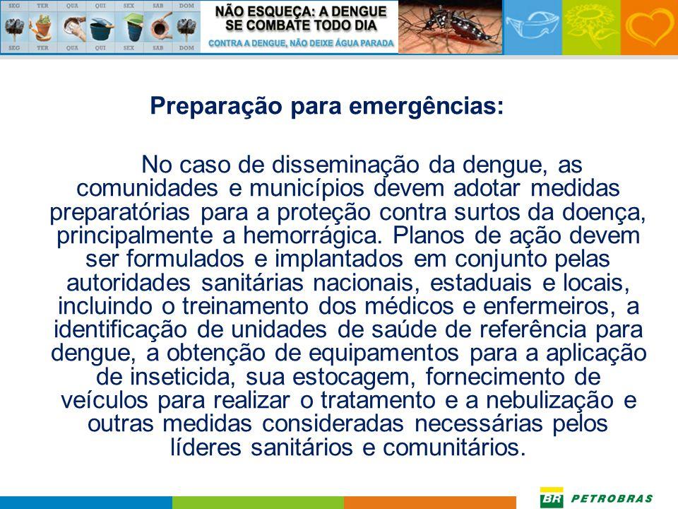 Preparação para emergências: