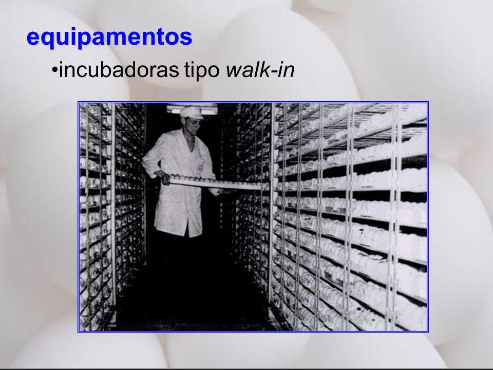 equipamentos incubadoras tipo walk-in