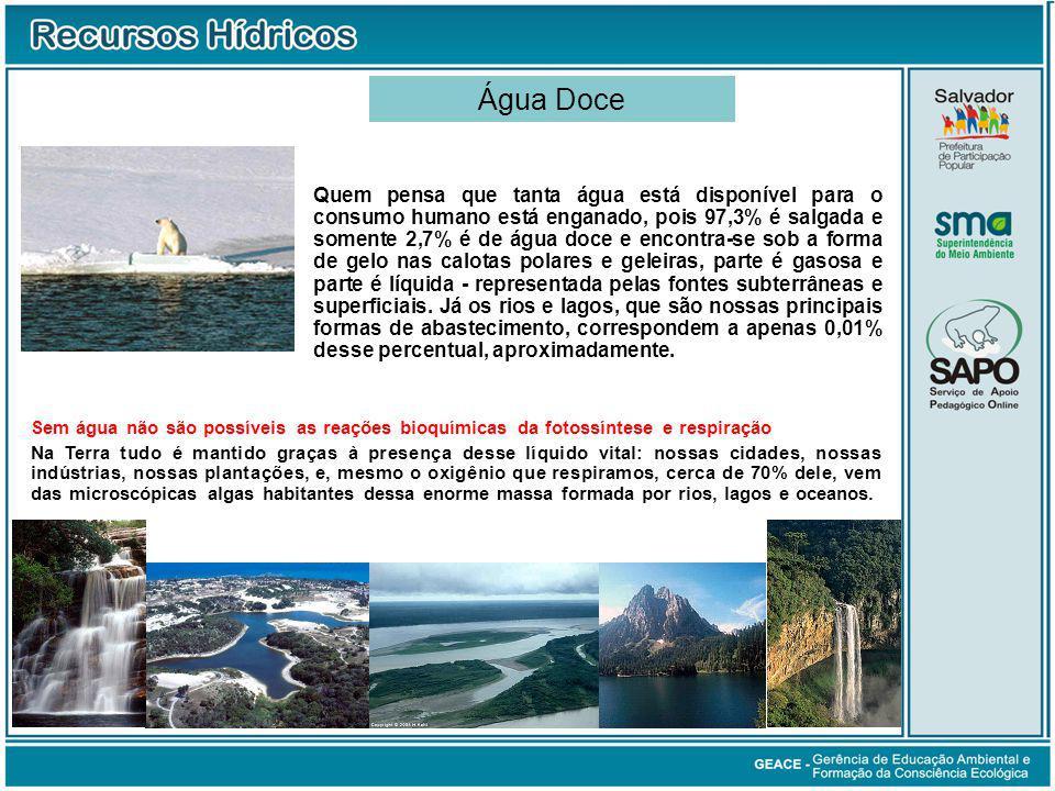 Água Doce Água Doce.
