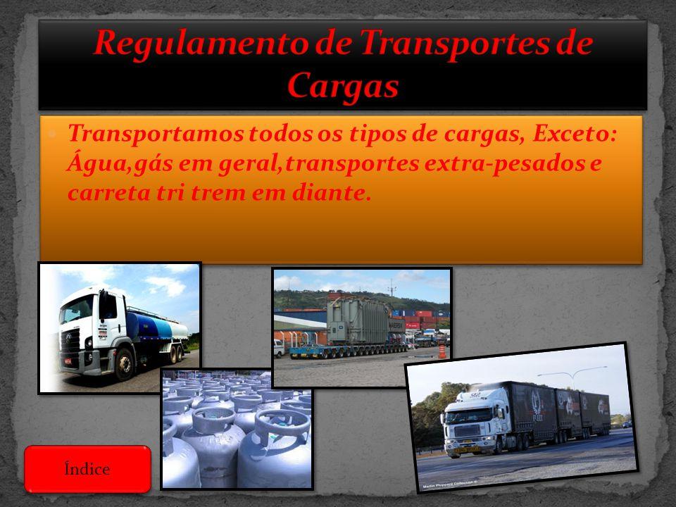 Regulamento de Transportes de Cargas
