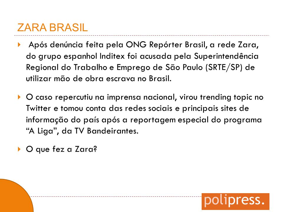 ZARA BRASIL
