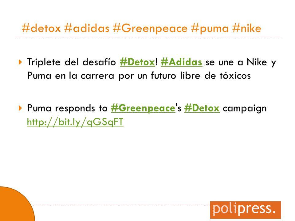 #detox #adidas #Greenpeace #puma #nike
