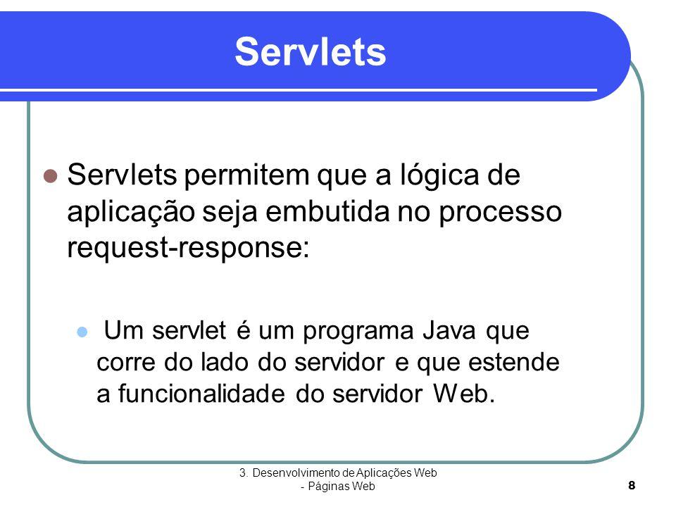 3. Desenvolvimento de Aplicações Web - Páginas Web