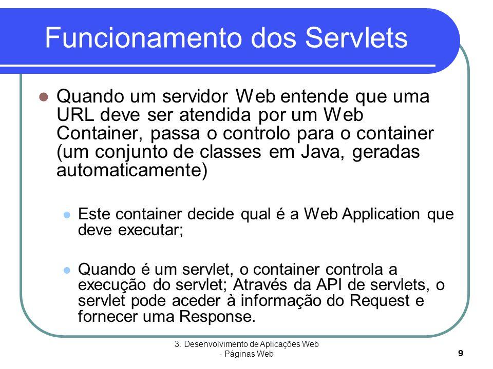 Funcionamento dos Servlets