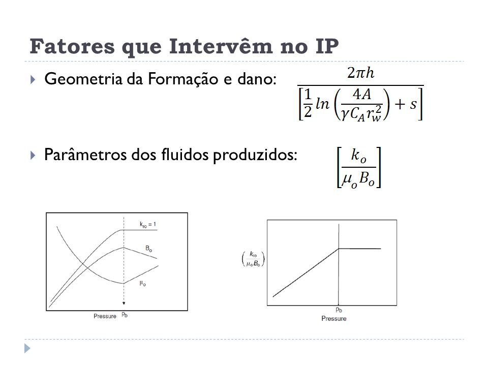 Fatores que Intervêm no IP