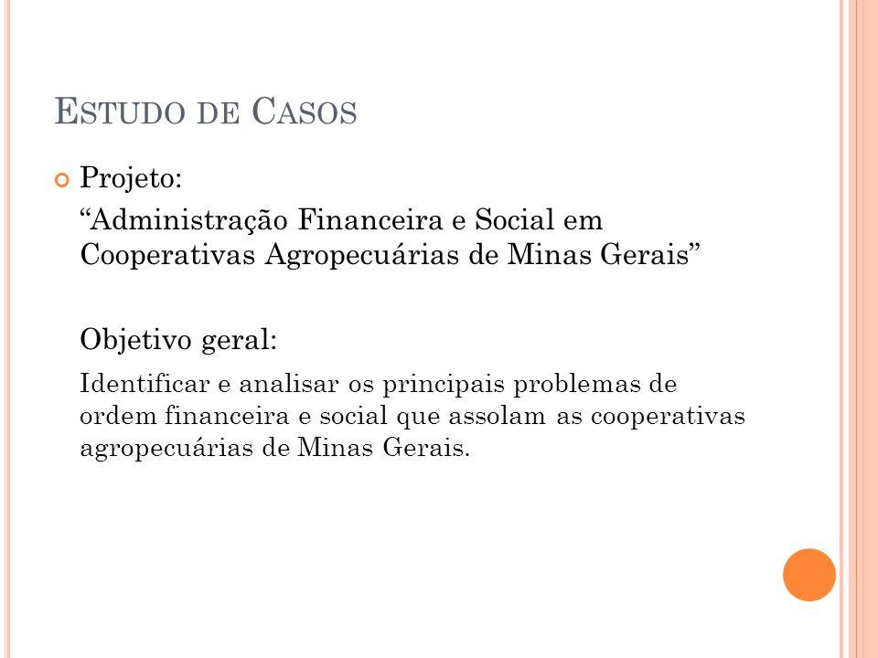 Estudo de Casos Projeto: