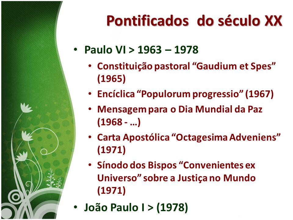 Pontificados do século XX