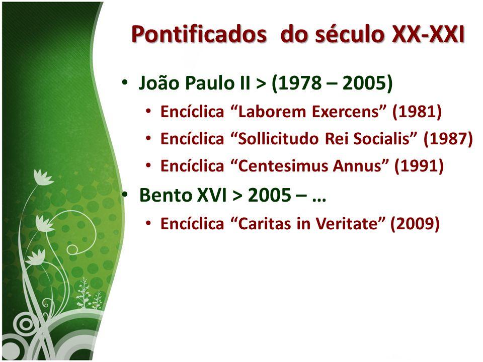 Pontificados do século XX-XXI