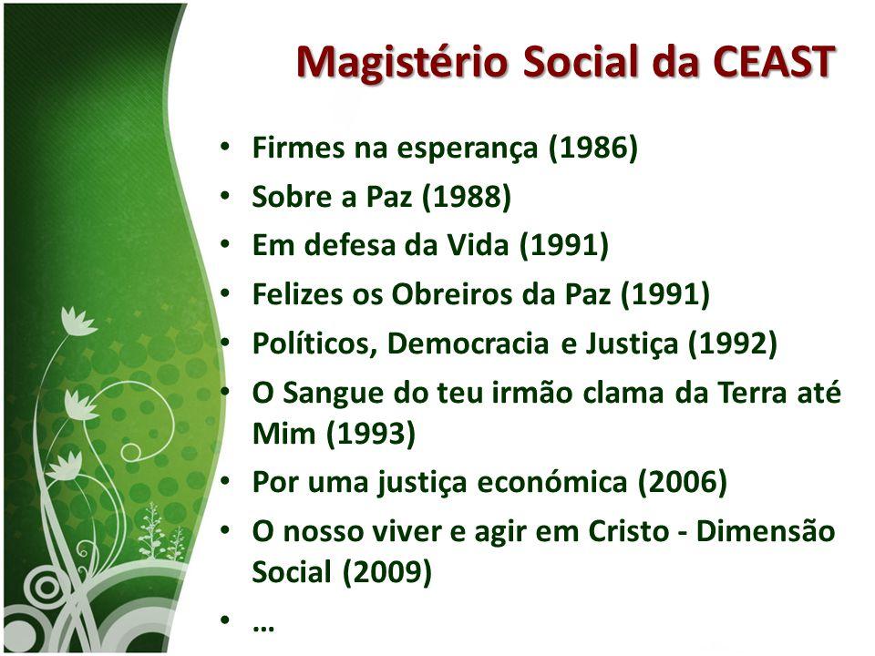 Magistério Social da CEAST