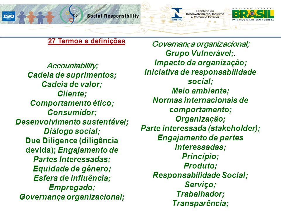 Governança organizacional; Grupo Vulnerável;. Impacto da organização;