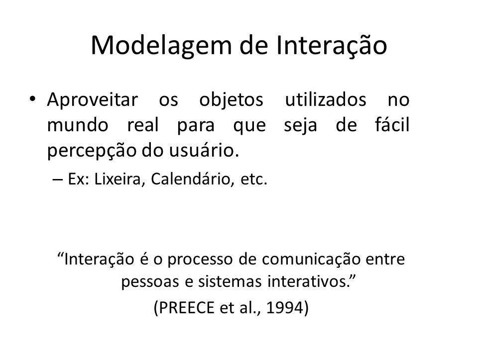 Modelagem de Interação