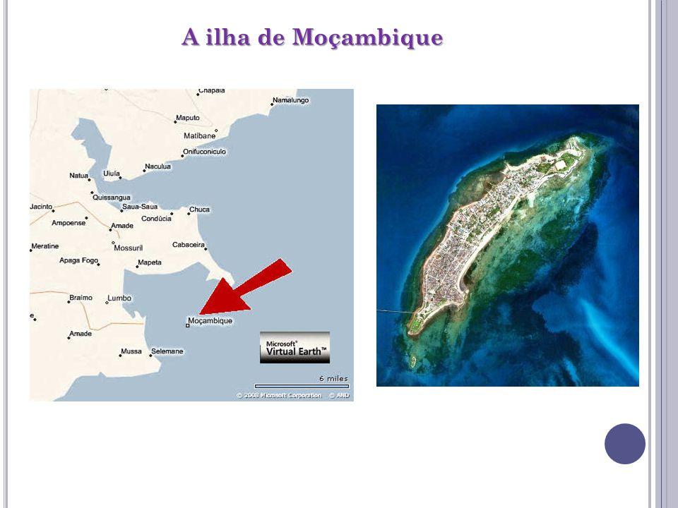 A ilha de Moçambique