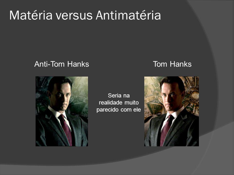 Matéria versus Antimatéria
