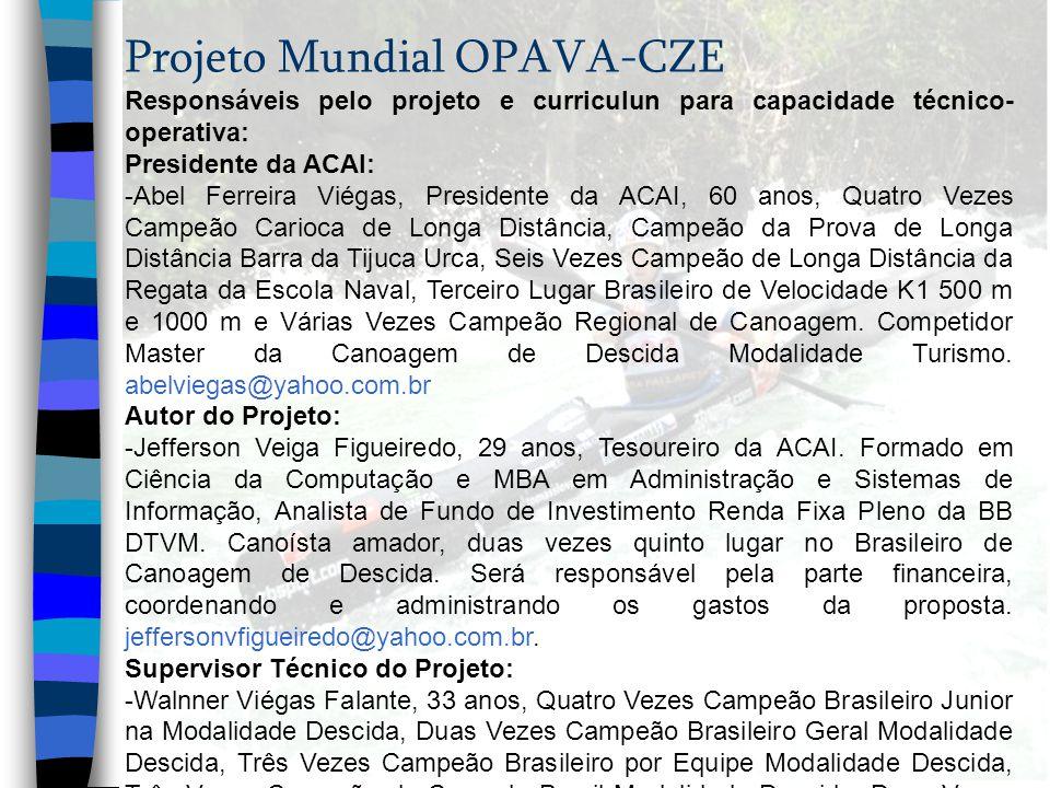 Projeto Mundial OPAVA-CZE