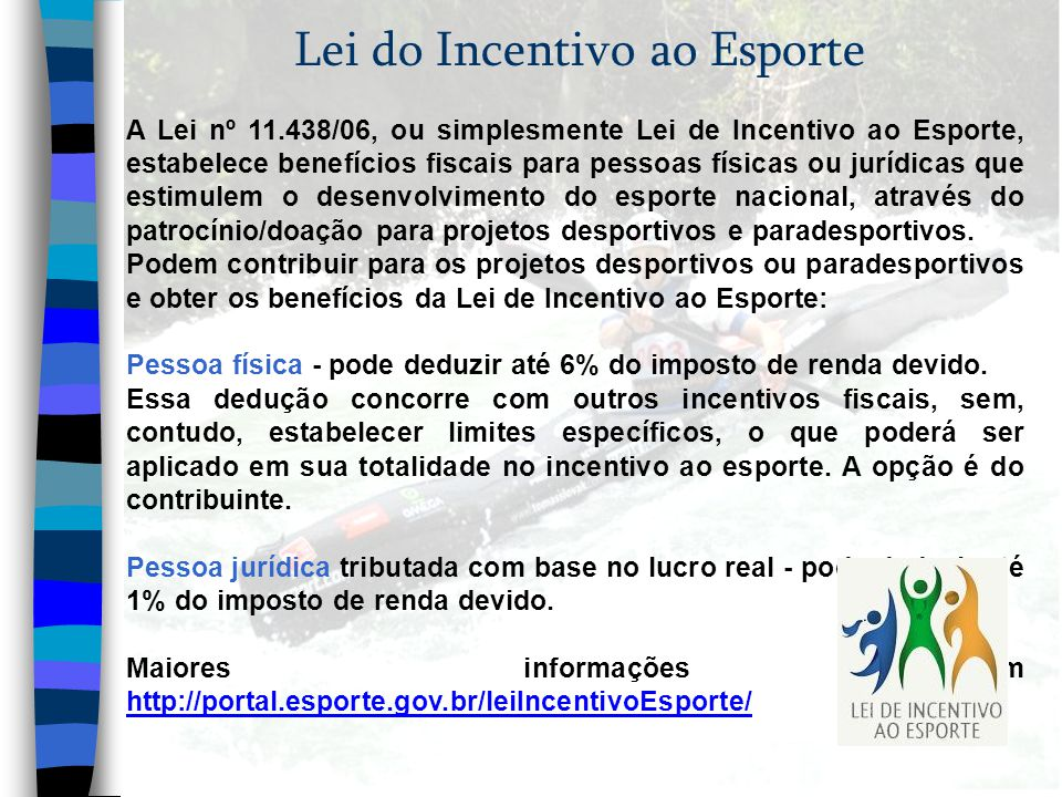 Lei do Incentivo ao Esporte