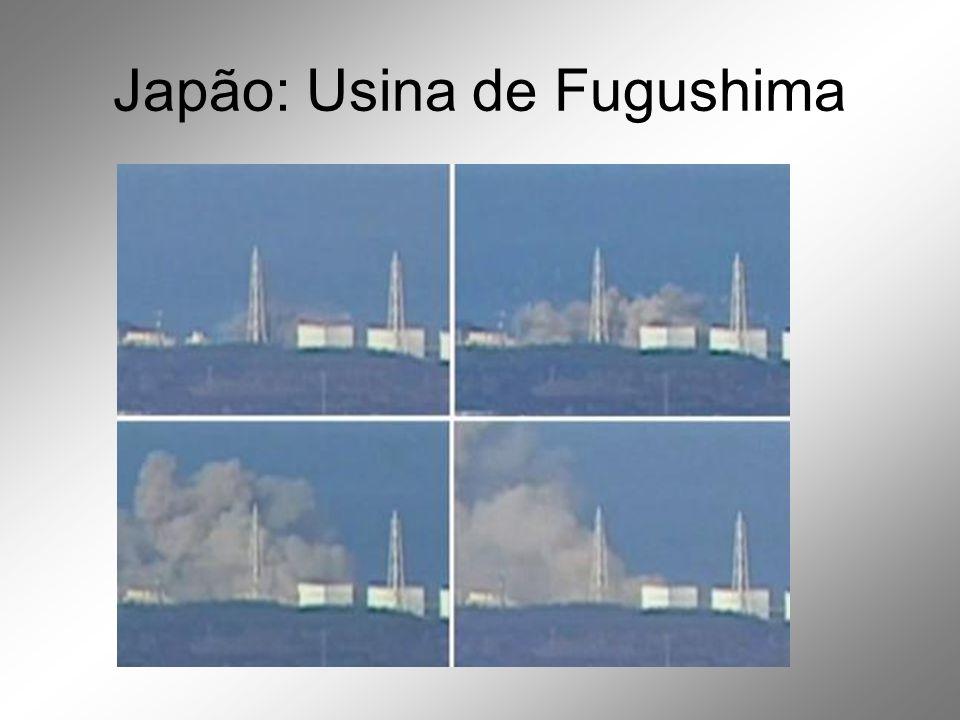 Japão: Usina de Fugushima