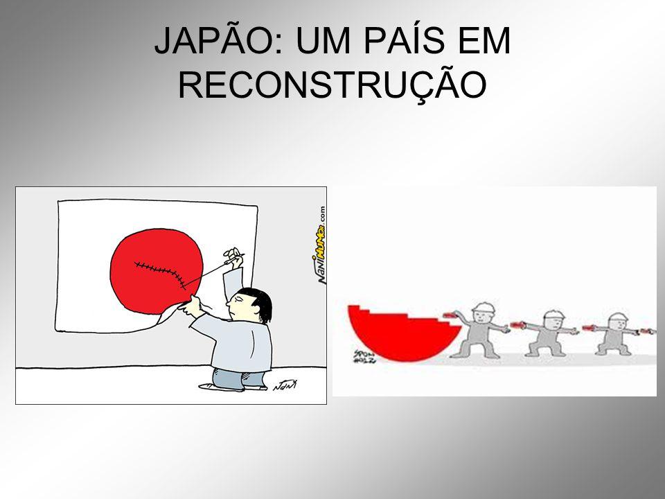 JAPÃO: UM PAÍS EM RECONSTRUÇÃO