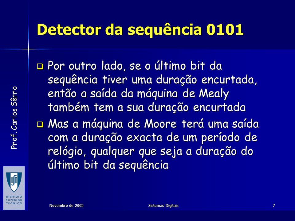 Detector da sequência 0101