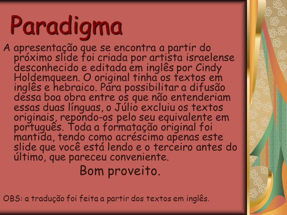 Paradigma Bom proveito.