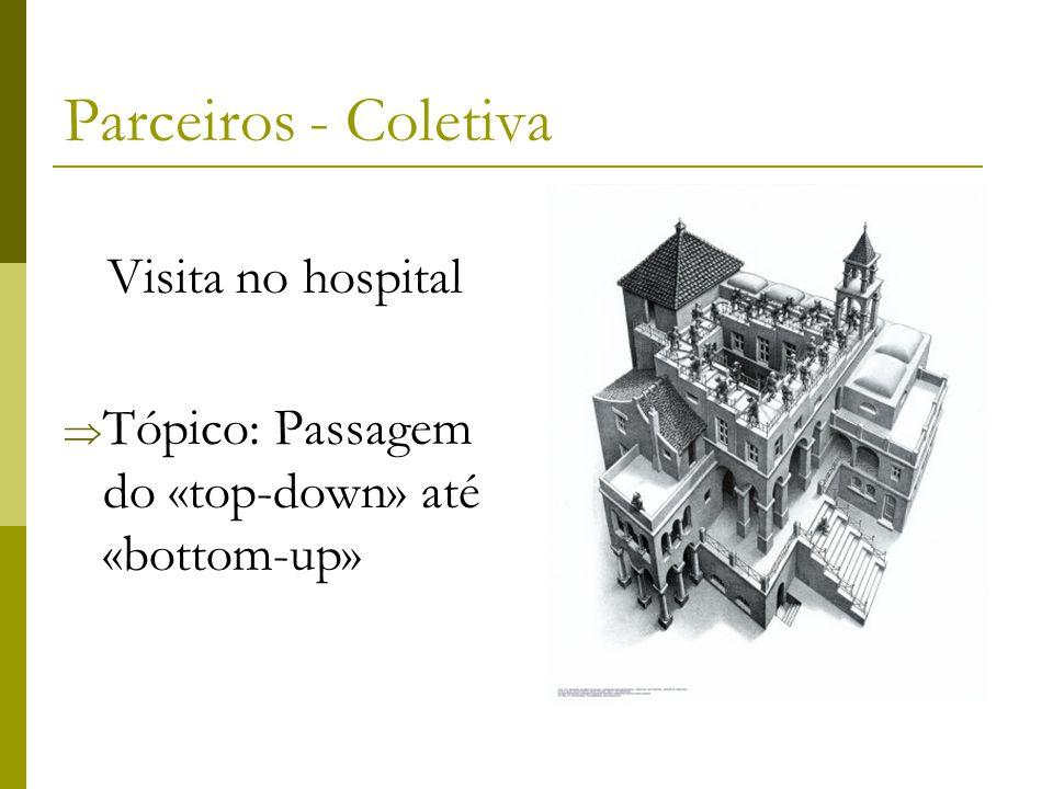 Parceiros - Coletiva Visita no hospital