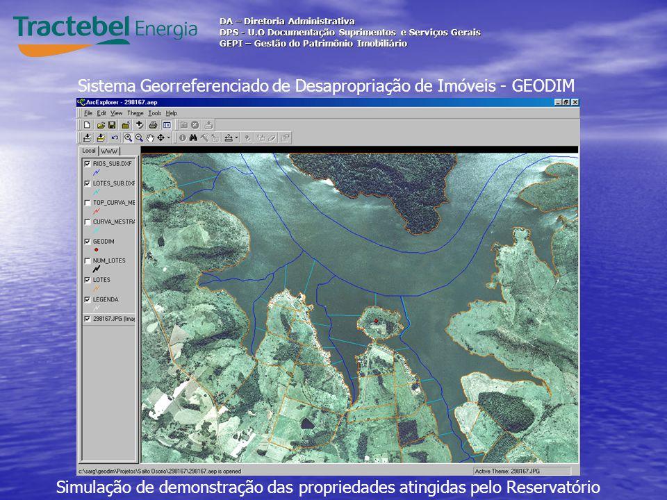 Sistema Georreferenciado de Desapropriação de Imóveis - GEODIM