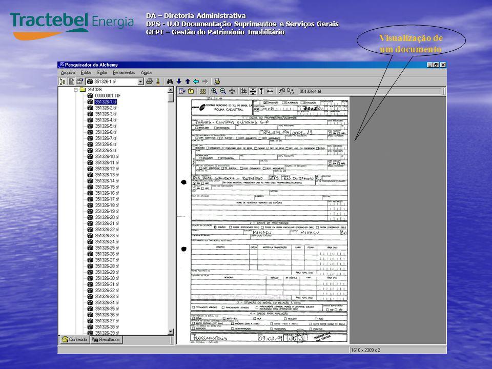 Visualização de um documento