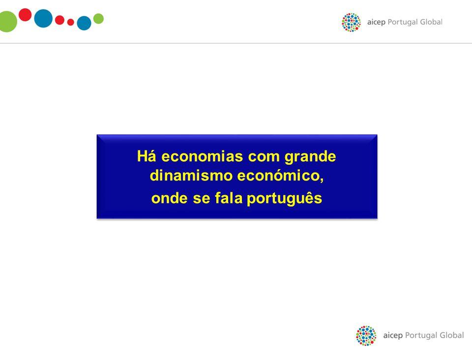Há economias com grande dinamismo económico,