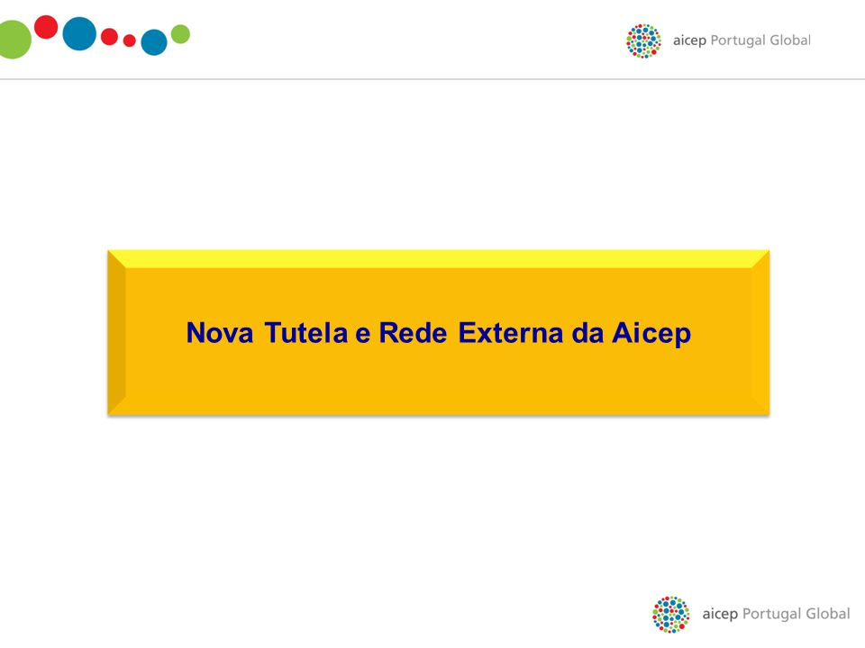 Nova Tutela e Rede Externa da Aicep
