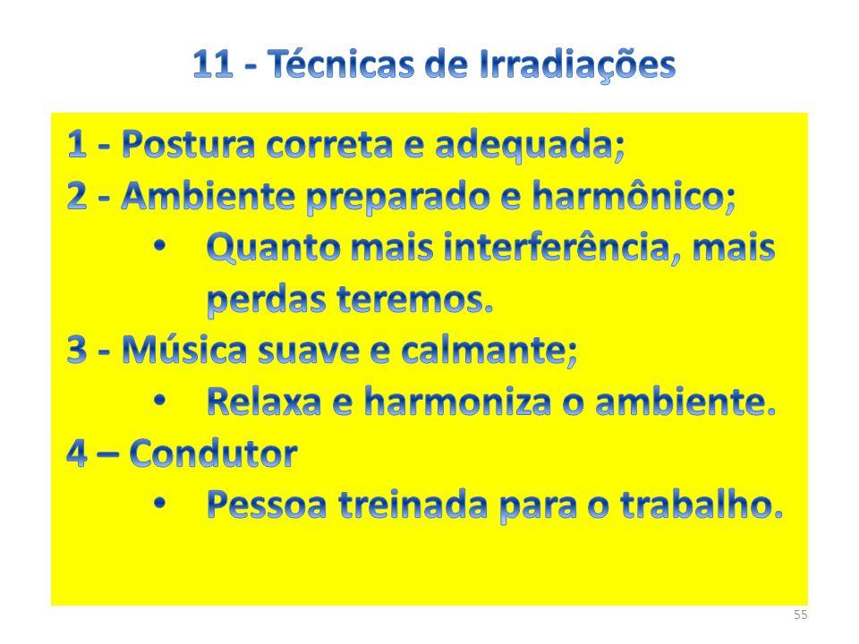 11 - Técnicas de Irradiações