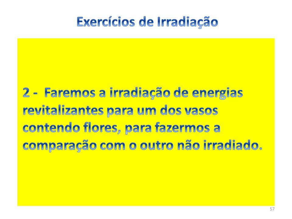 Exercícios de Irradiação