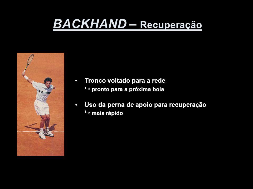 BACKHAND – Recuperação