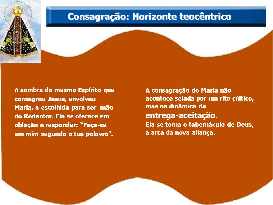 Consagração: Horizonte teocêntrico
