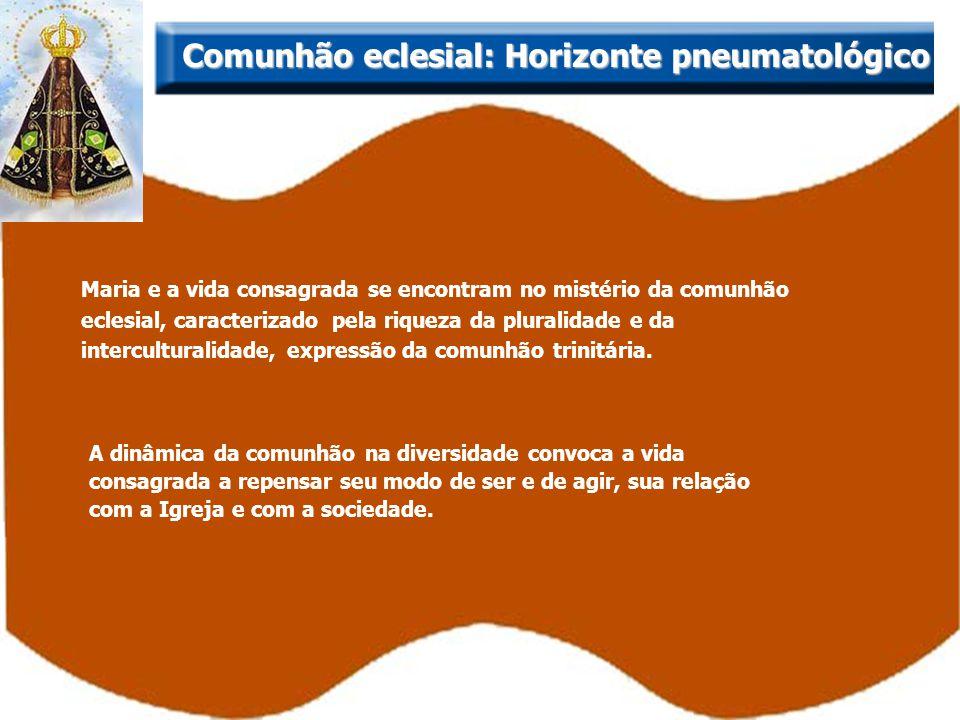 Comunhão eclesial: Horizonte pneumatológico