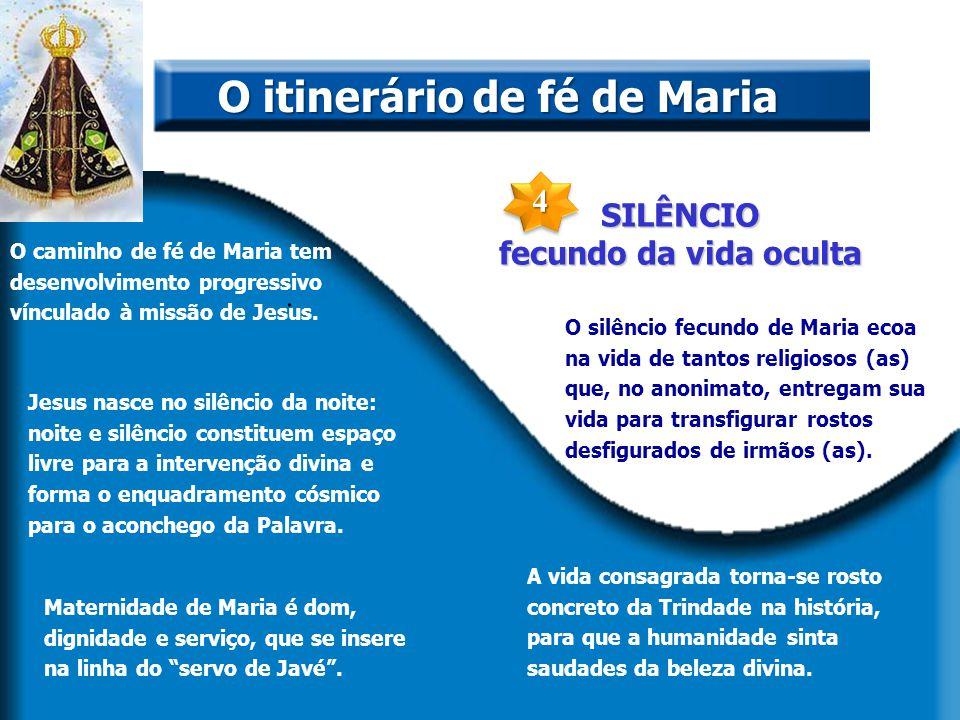 O itinerário de fé de Maria