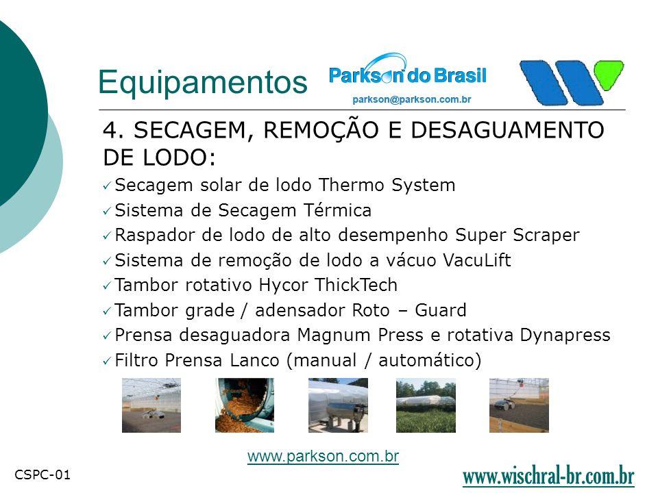 Equipamentos www.wischral-br.com.br