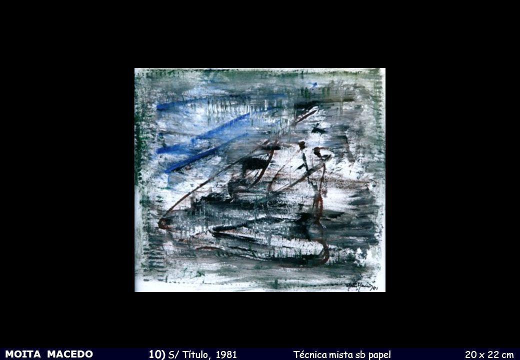 10) S/ Título, 1981 Técnica mista sb papel 20 x 22 cm