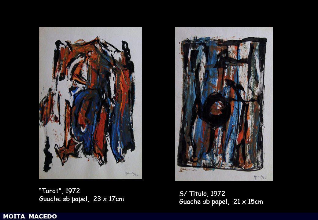 Tarot , 1972 S/ Título, 1972 Guache sb papel, 23 x 17cm