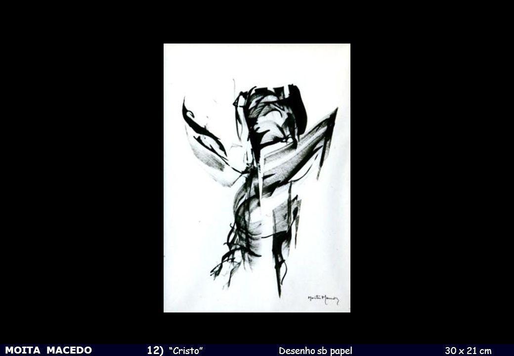 12) Cristo Desenho sb papel 30 x 21 cm