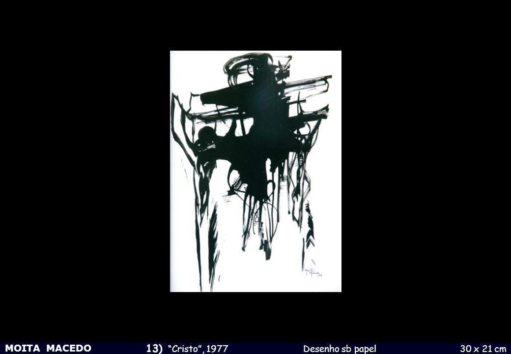 13) Cristo , 1977 Desenho sb papel 30 x 21 cm