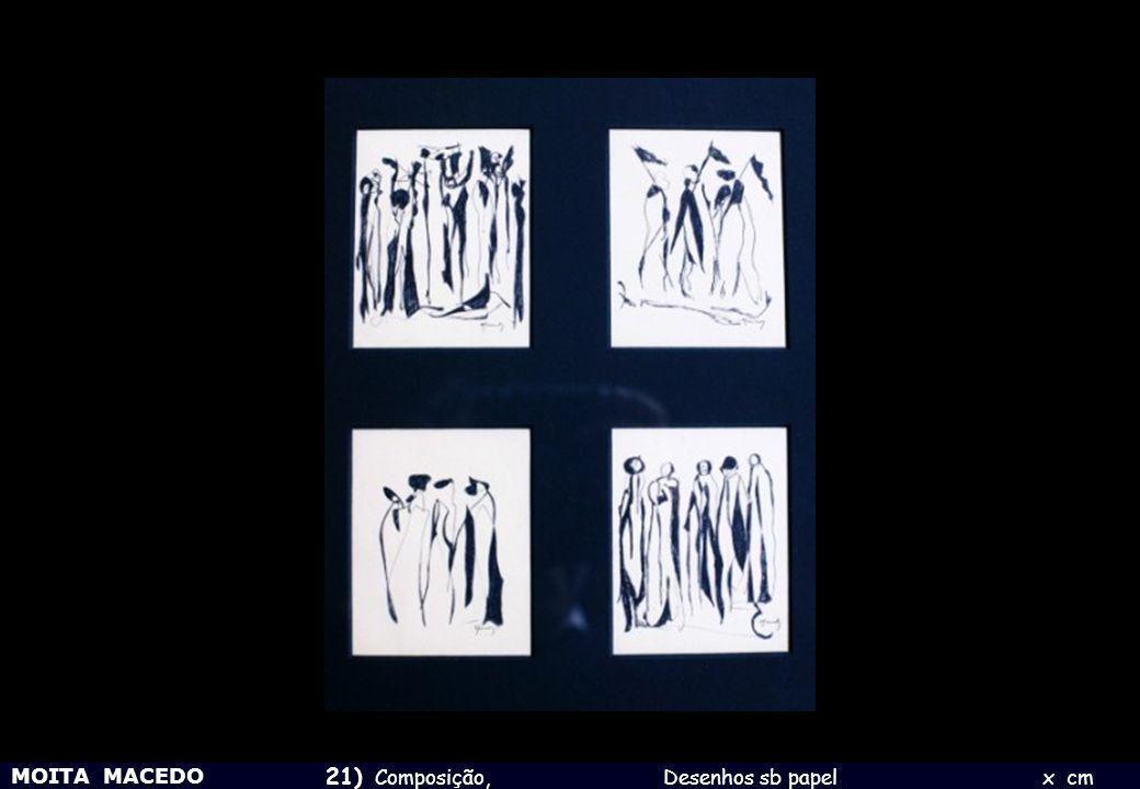21) Composição, Desenhos sb papel x cm