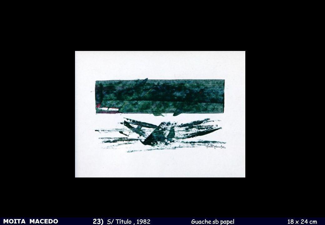 23) S/ Título , 1982 Guache sb papel 18 x 24 cm