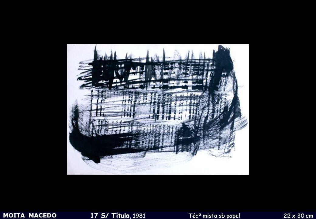 17 S/ Título, 1981 Técª mista sb papel 22 x 30 cm