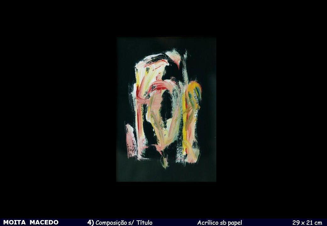 4) Composição s/ Título Acrílico sb papel 29 x 21 cm
