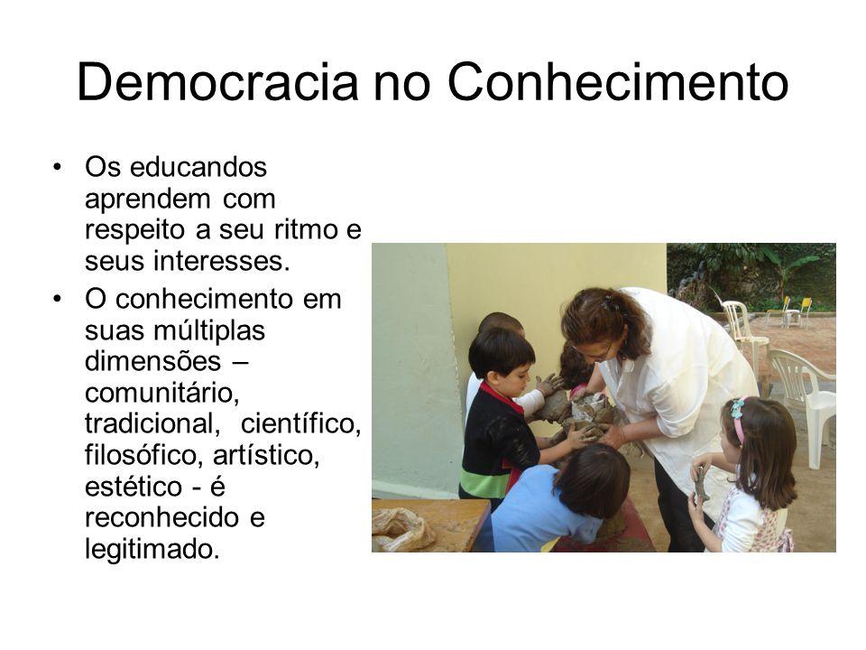 Democracia no Conhecimento