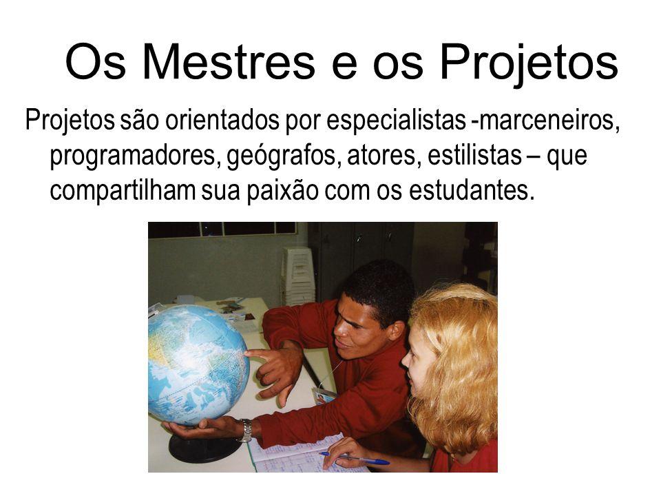 Os Mestres e os Projetos