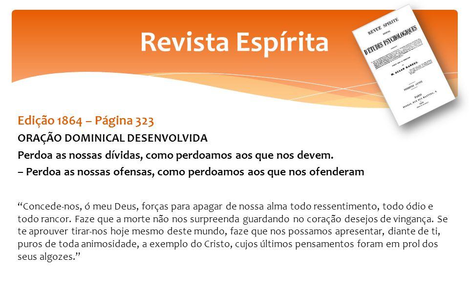 Revista Espírita Edição 1864 – Página 323