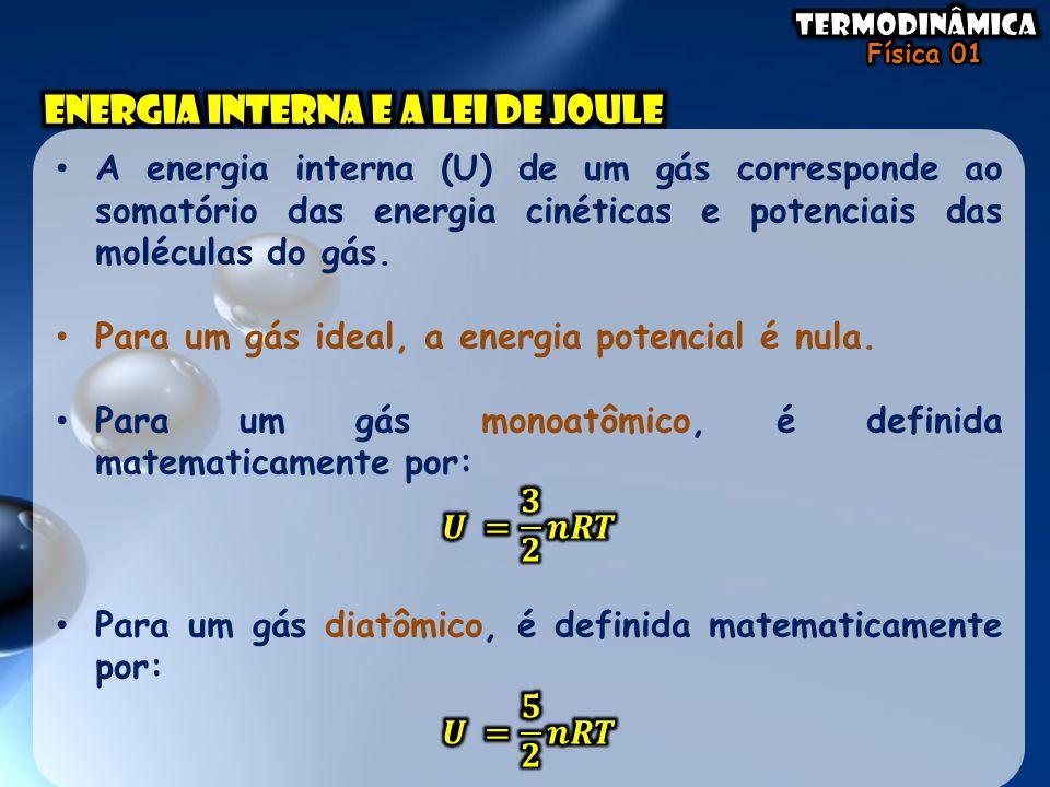 Energia interna e a lei de joule