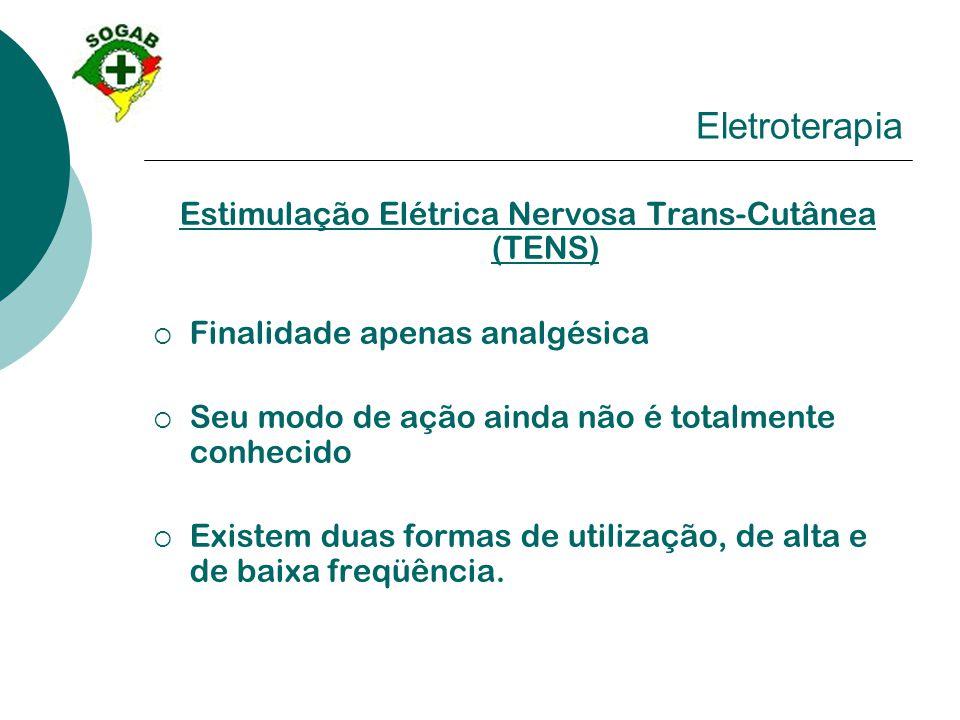 Estimulação Elétrica Nervosa Trans-Cutânea (TENS)