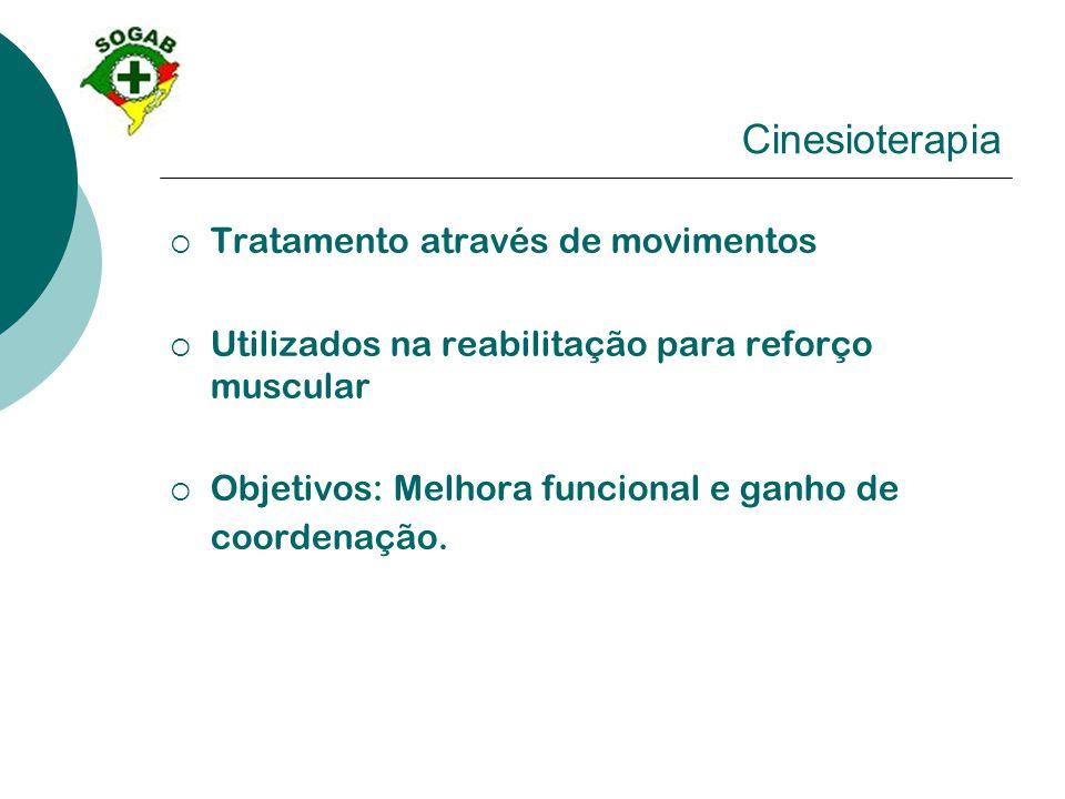 Cinesioterapia Tratamento através de movimentos